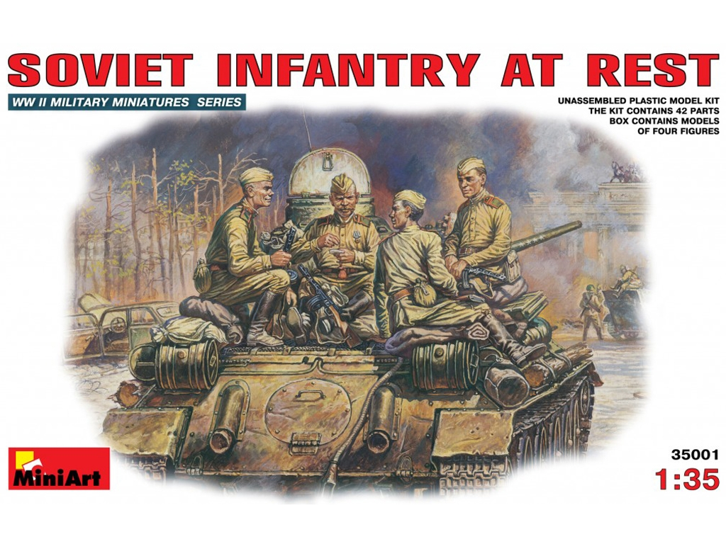 Infanteria Sovietica Descansando  (Vista 1)