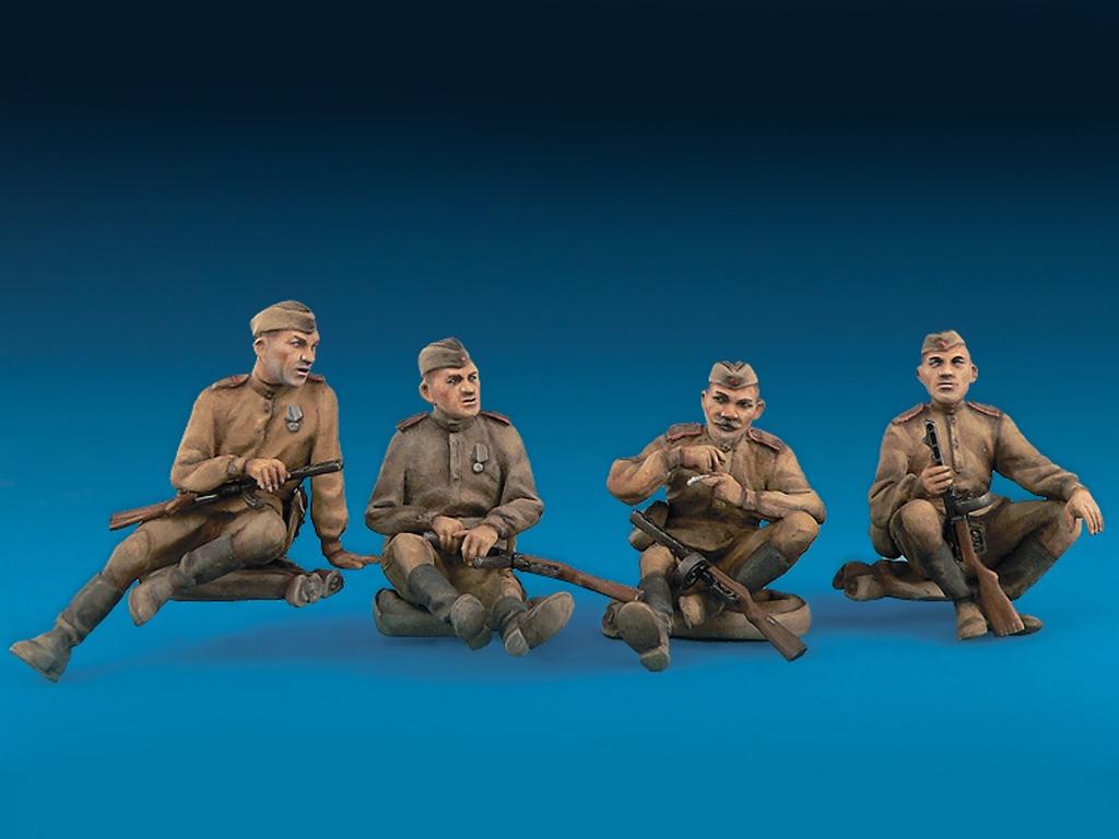 Infanteria Sovietica Descansando  (Vista 2)