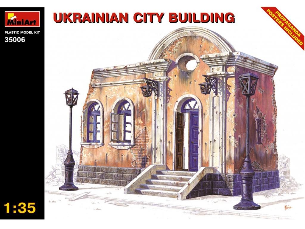 Edificio urbano de Ukrania - Ref.: MIAR-35006