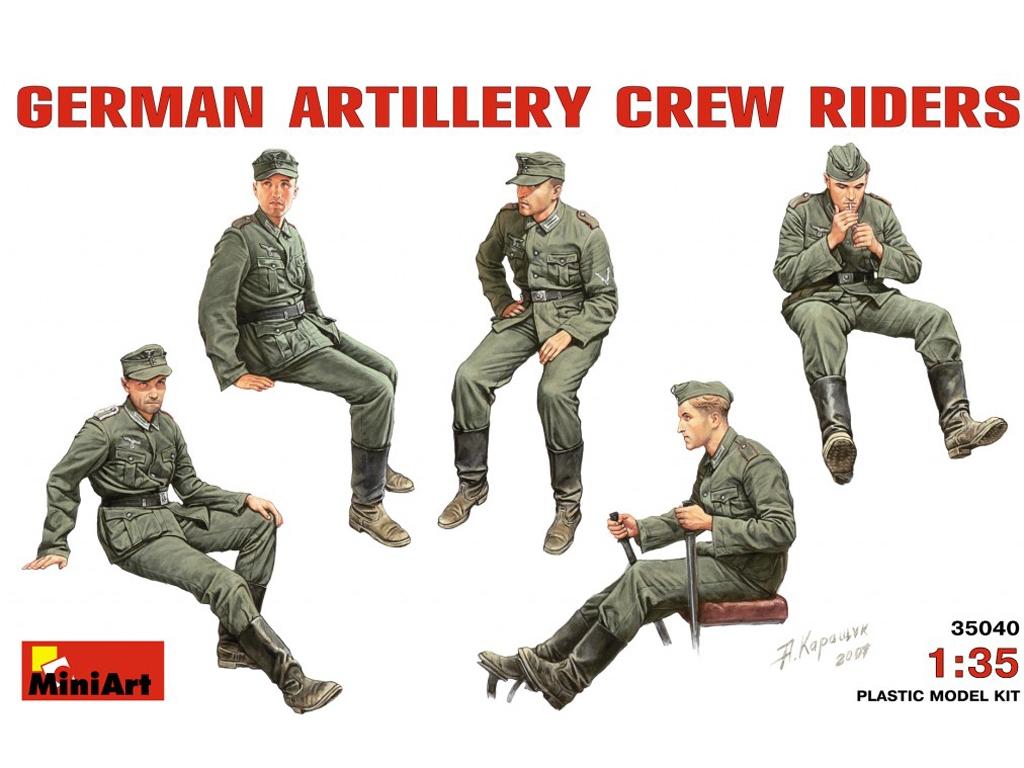 Conductores Artilleria Alemana - Ref.: MIAR-35040