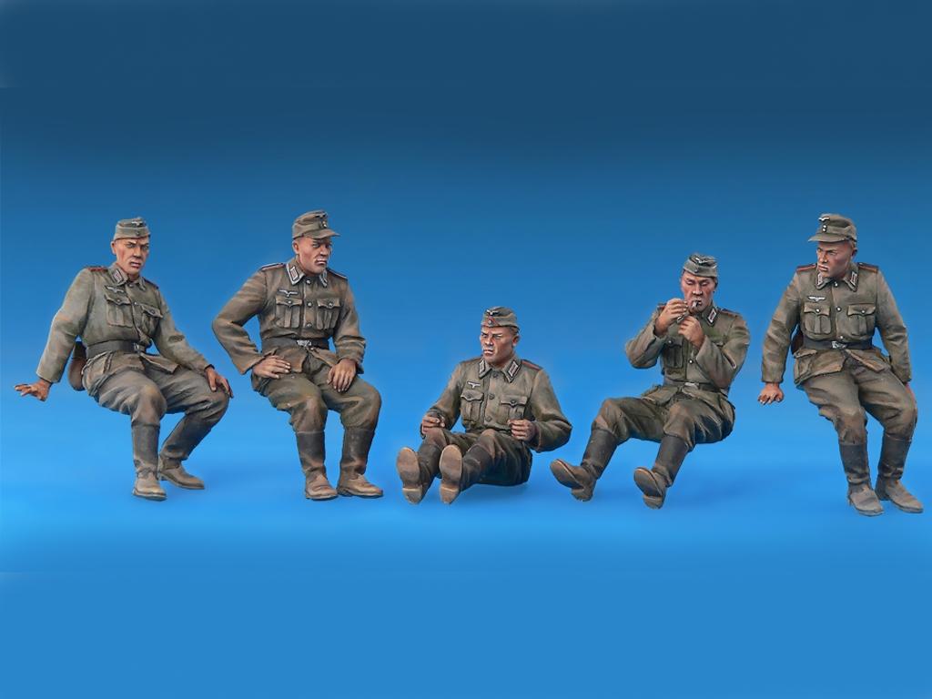 Conductores Artilleria Alemana  (Vista 2)