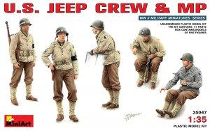 Dotación Jeep USA y policía militar  (Vista 1)
