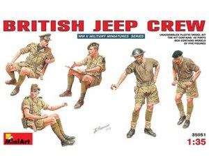 British Jeep crew WWII - Ref.: MIAR-35051