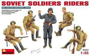 Soldados Sovieticos descansando  (Vista 1)
