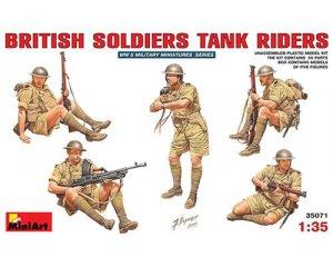 Soldados Britanicos sobre tanque - Ref.: MIAR-35071