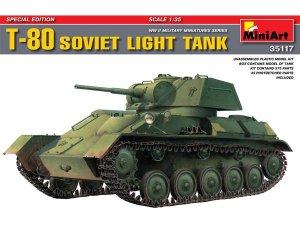 Tanque soviético T80 - Ref.: MIAR-35117