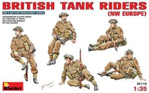 Infanteria Britanica sobre tanque  (Vista 1)