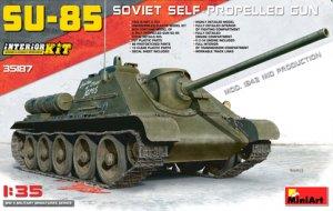 SU-85 Soviet Self-Propelled Gun Mod.1943 - Ref.: MIAR-35187