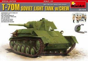 Carro ruso T-70M con dotación - Ref.: MIAR-35194