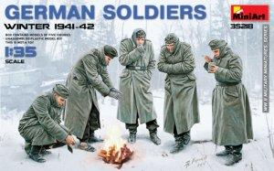 Soldados Alemanes Invierno 1941/42 - Ref.: MIAR-35218