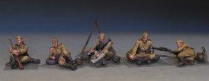 Soviet Soldiers Tanking a Break  (Vista 3)