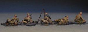 Soviet Soldiers Tanking a Break  (Vista 4)