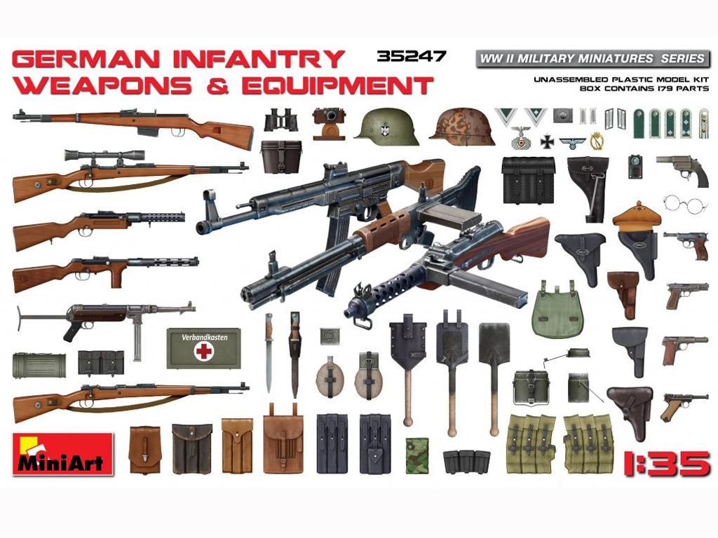 German Infantry Weapons & Equipament