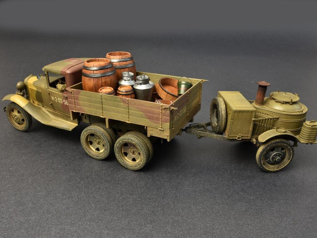 Soviet 2t Truck AAA Type w/Filed Kitchen  (Vista 10)