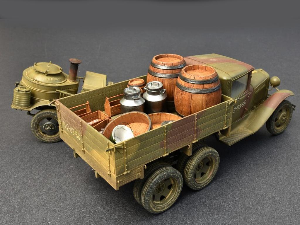 Soviet 2t Truck AAA Type w/Filed Kitchen  (Vista 11)