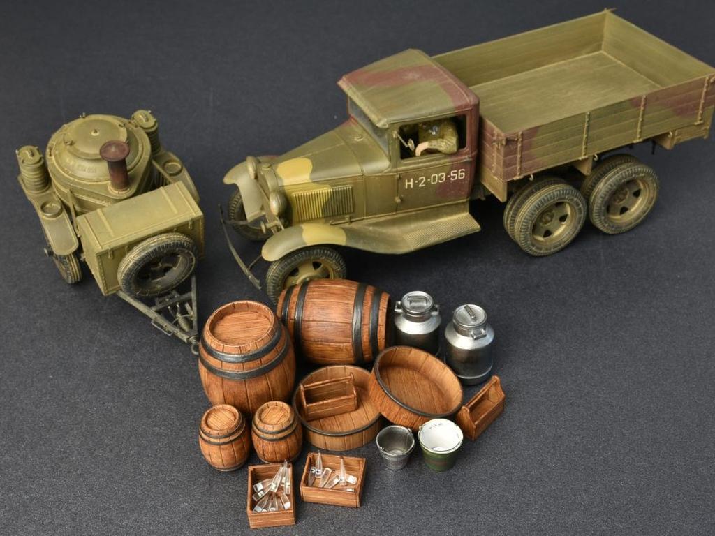 Soviet 2t Truck AAA Type w/Filed Kitchen  (Vista 12)