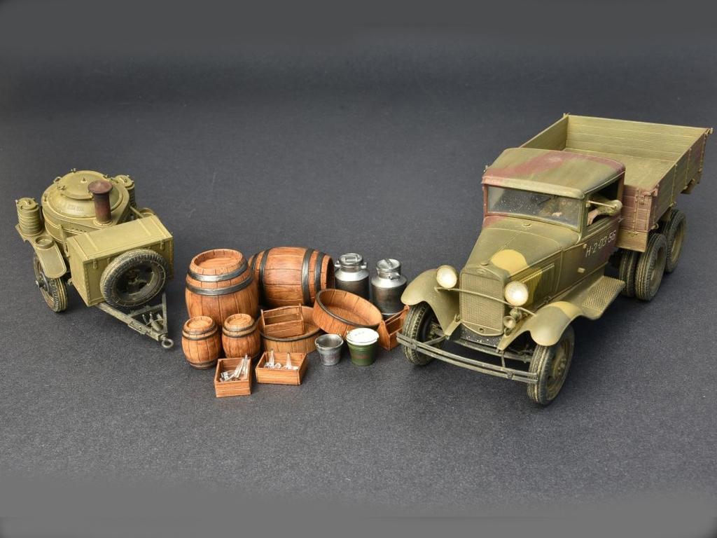 Soviet 2t Truck AAA Type w/Filed Kitchen  (Vista 13)