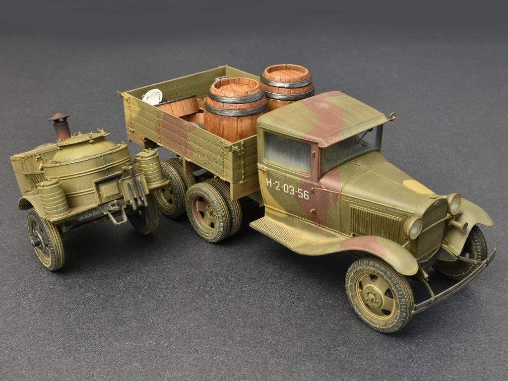 Soviet 2t Truck AAA Type w/Filed Kitchen  (Vista 14)