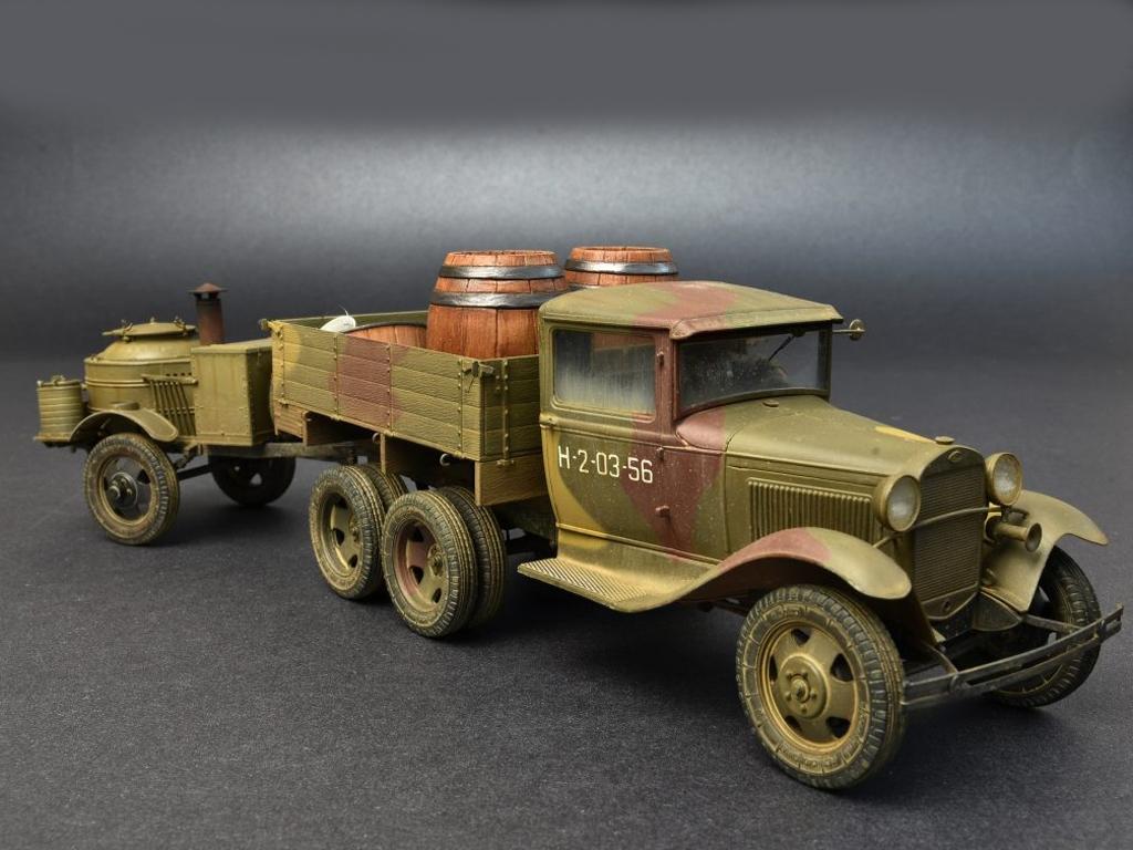 Soviet 2t Truck AAA Type w/Filed Kitchen  (Vista 3)