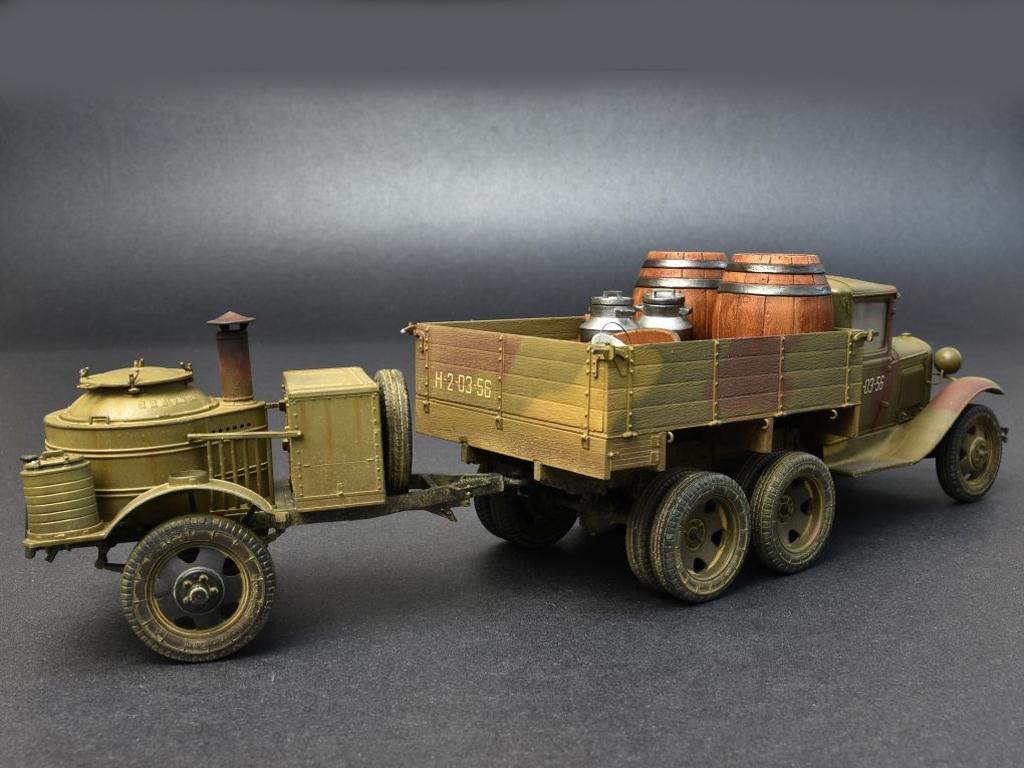 Soviet 2t Truck AAA Type w/Filed Kitchen  (Vista 5)