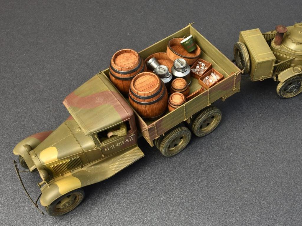 Soviet 2t Truck AAA Type w/Filed Kitchen  (Vista 6)
