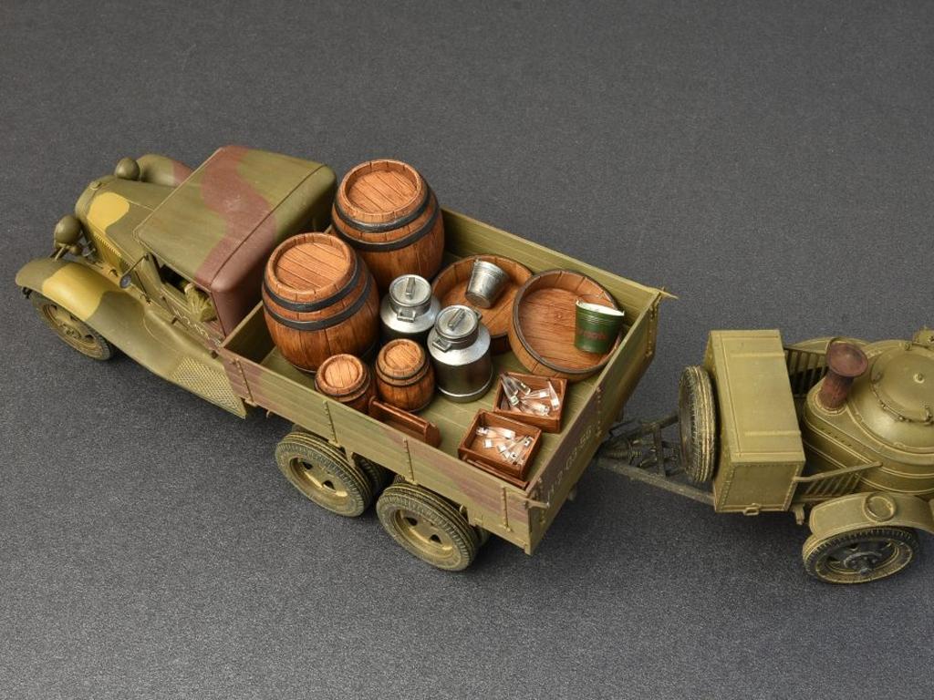 Soviet 2t Truck AAA Type w/Filed Kitchen  (Vista 7)