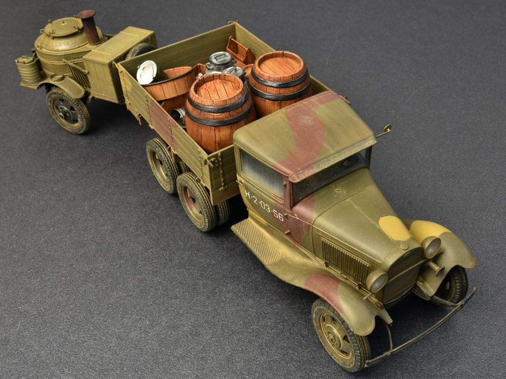 Soviet 2t Truck AAA Type w/Filed Kitchen  (Vista 8)