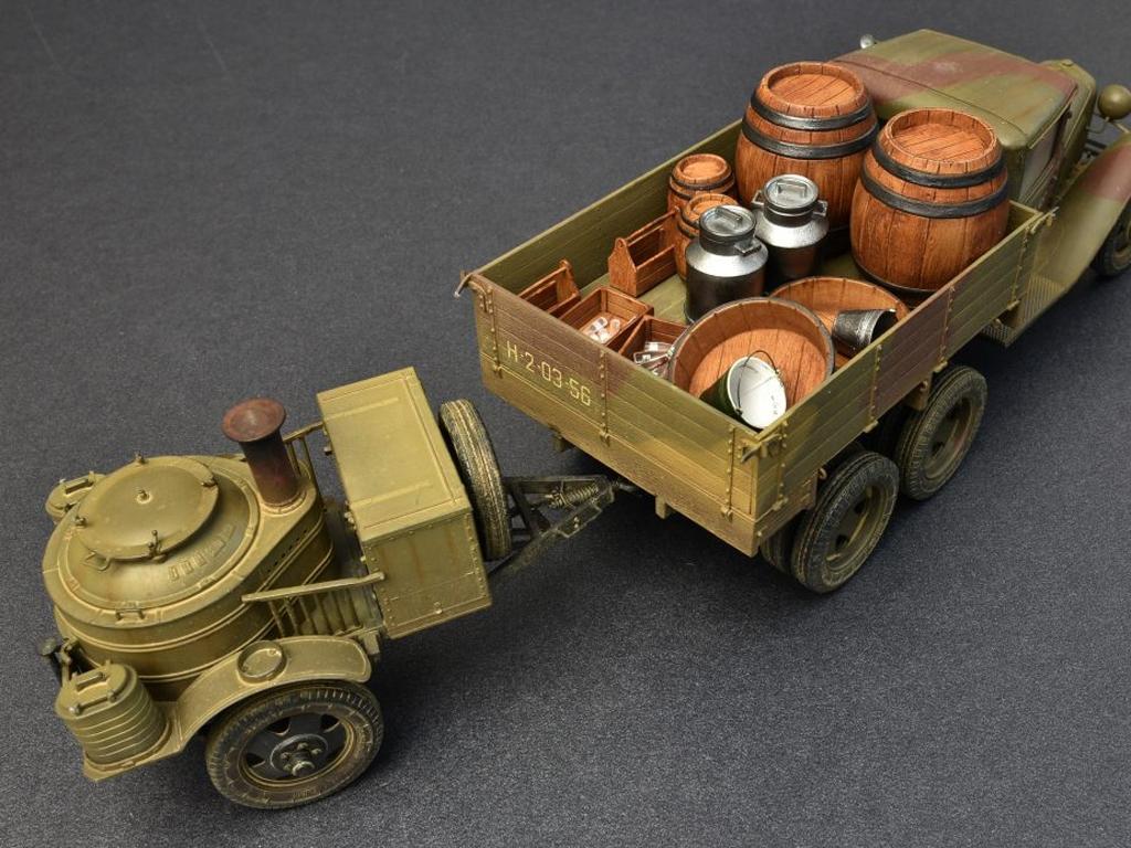 Soviet 2t Truck AAA Type w/Filed Kitchen  (Vista 9)