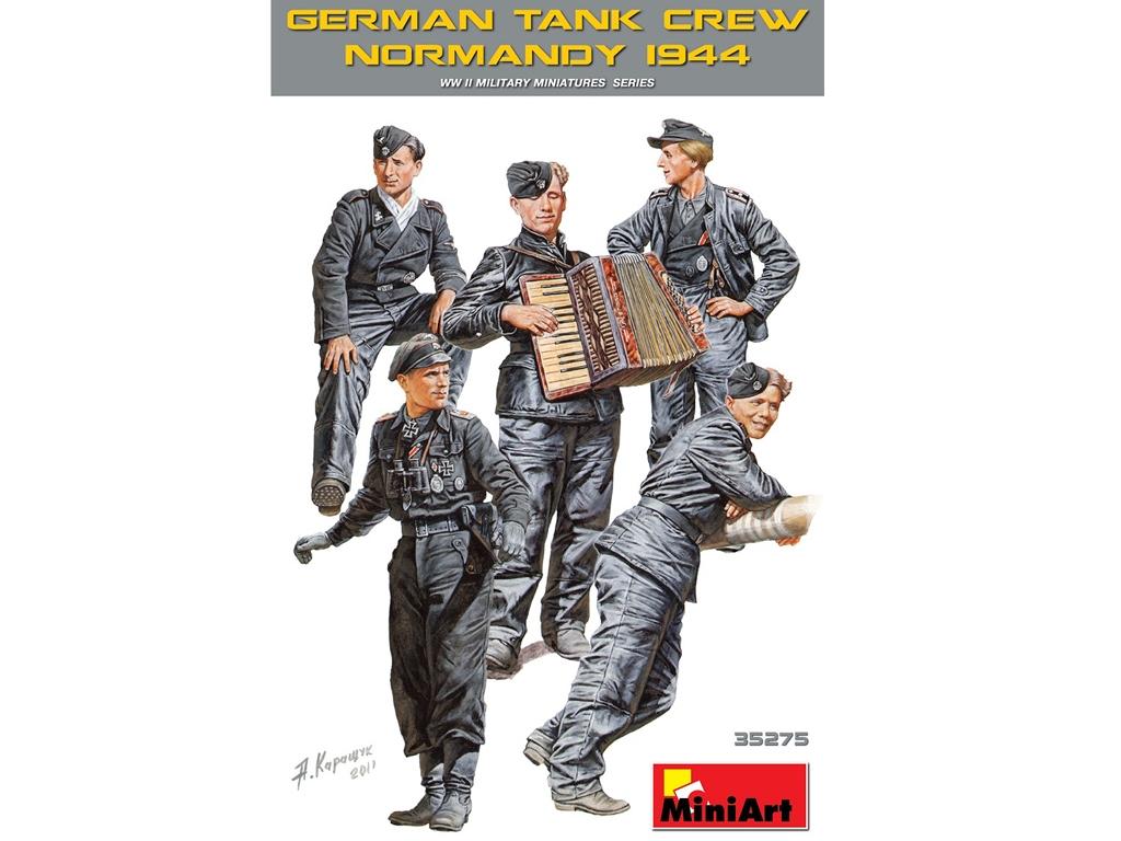Tripulación Tanques Alemanes  (Vista 1)