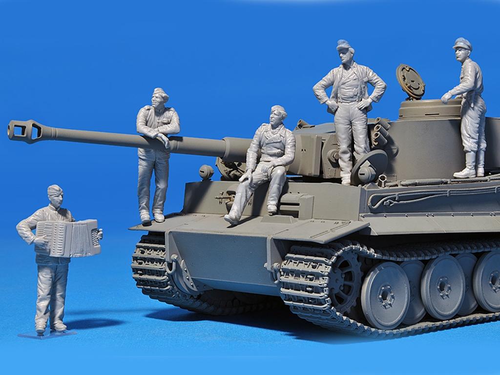 Tripulación Tanques Alemanes  (Vista 3)