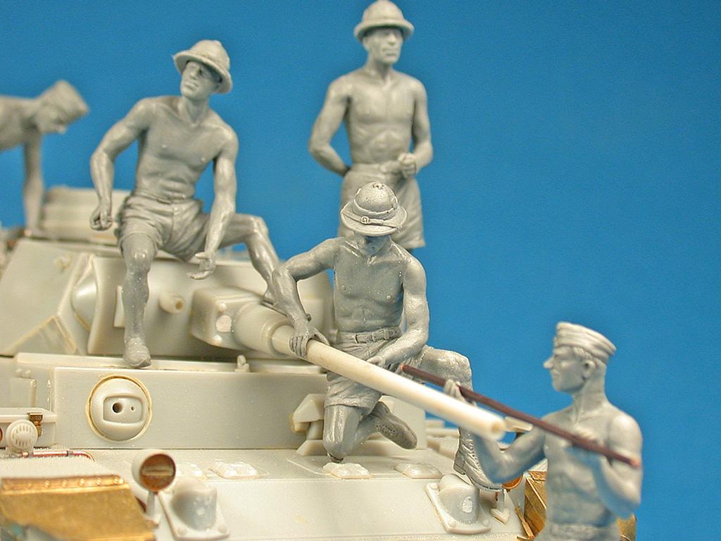 German Tank Crew Afrika Korps  (Vista 2)