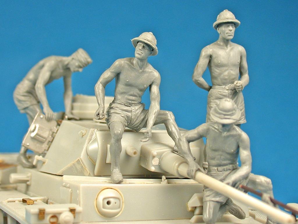 German Tank Crew Afrika Korps  (Vista 3)