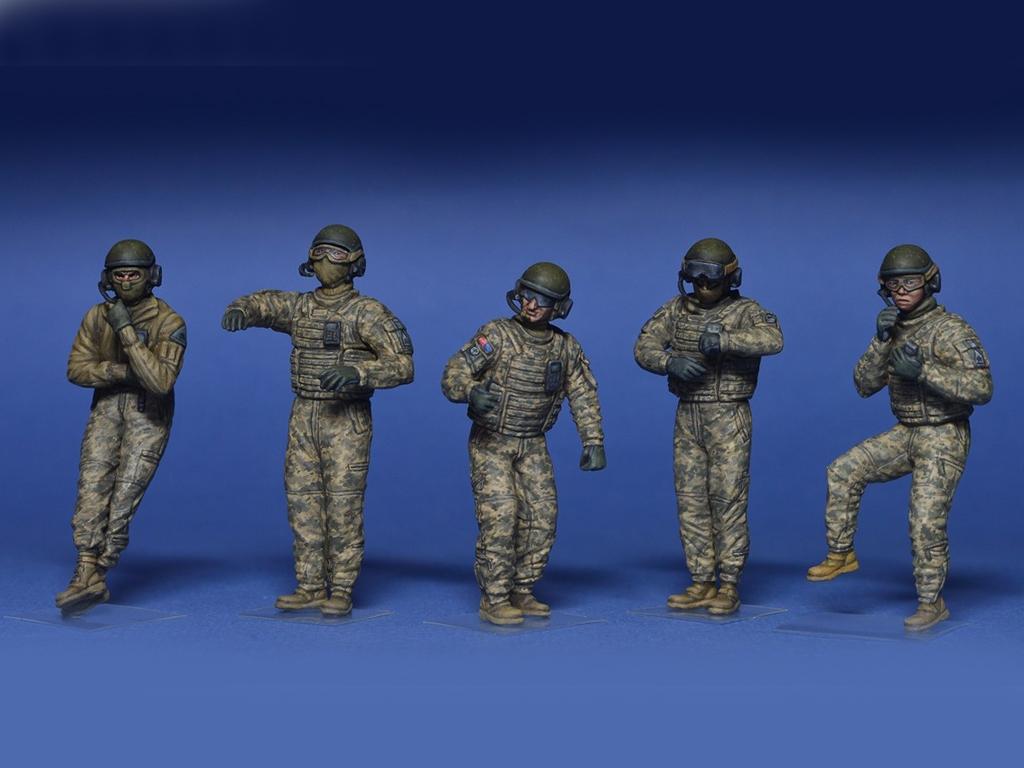 Tanquistas U.S. Modernos  (Vista 2)