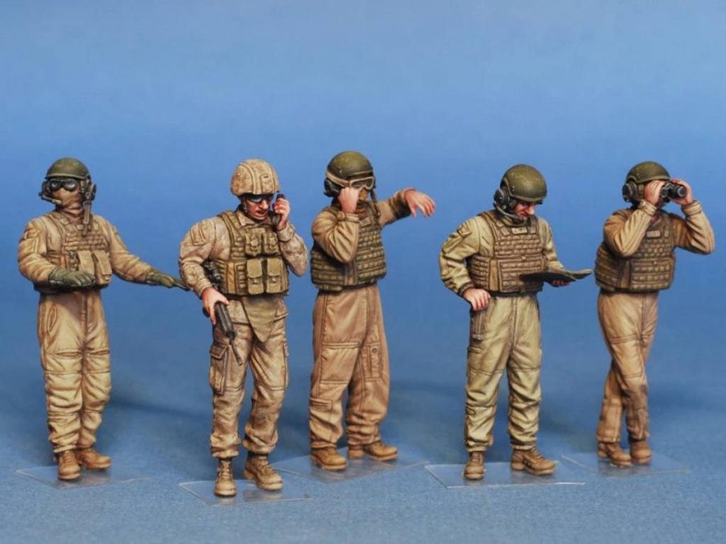 USMC. Tanquistas  (Vista 3)