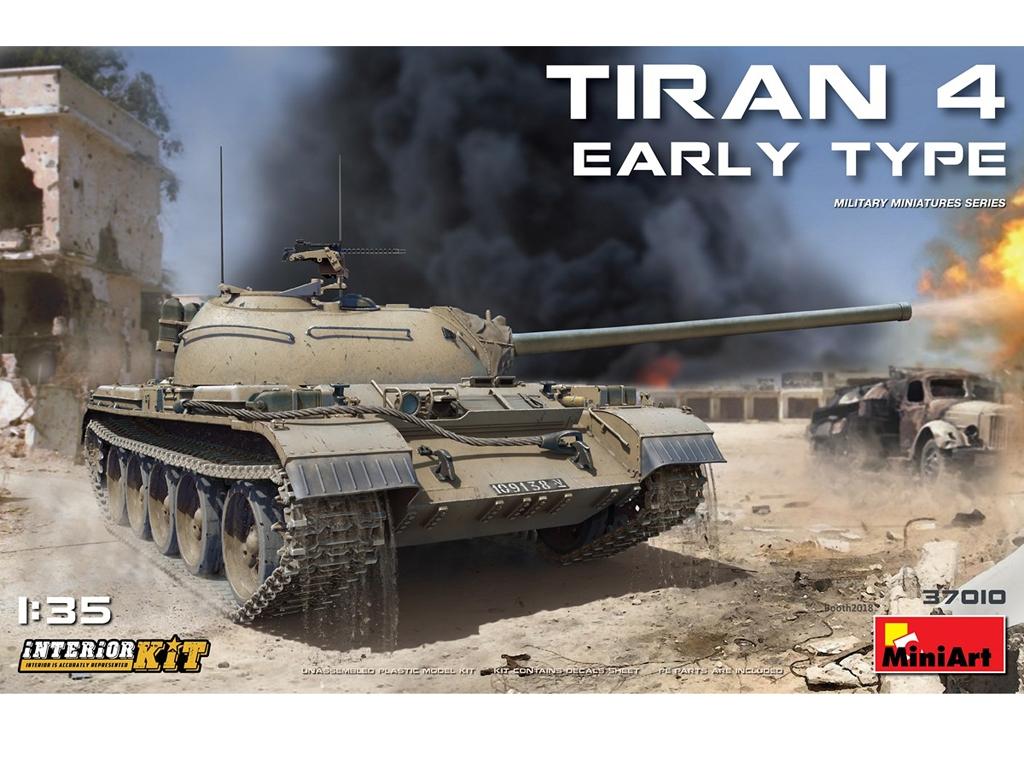 Tiran 4 Early Type. Interior Kit - Ref.: MIAR-37010