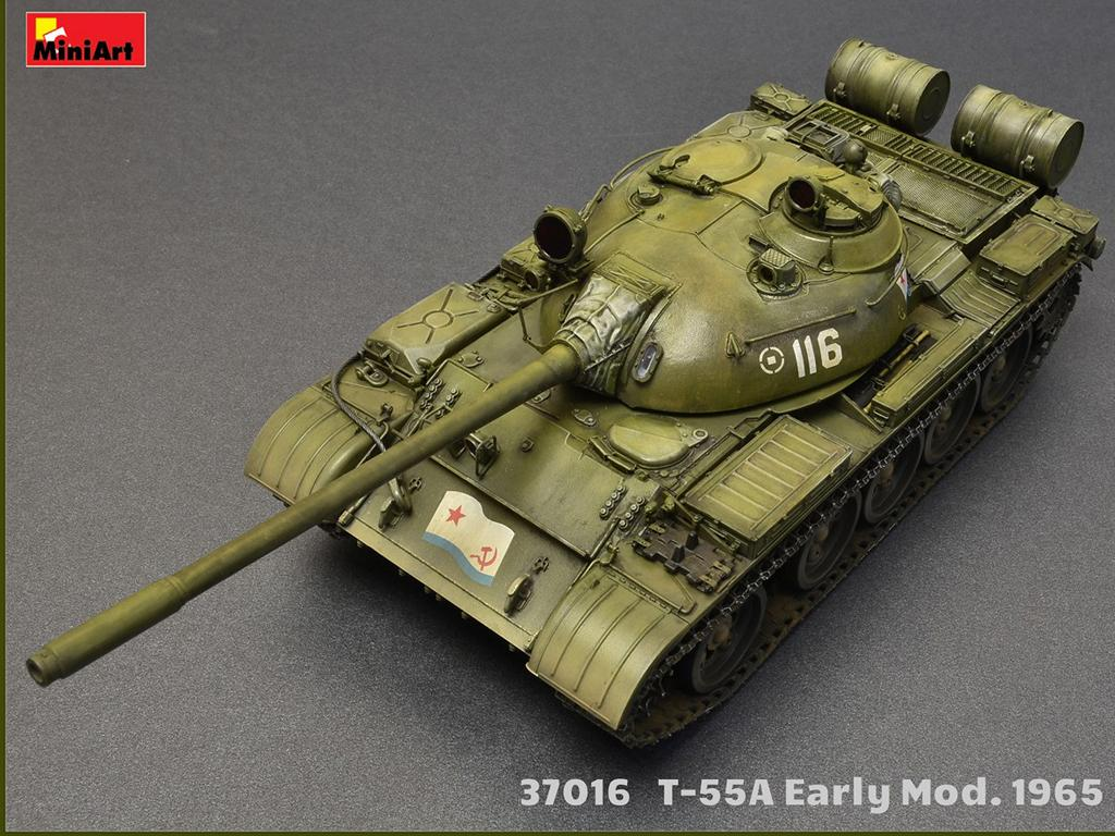 T-55A Early Mod. 1965. Interior Kit