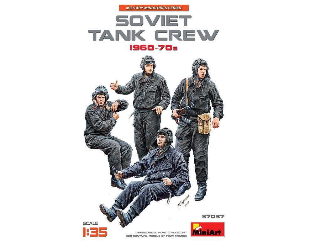 Tanquistas Sovieticos 1960-70s  (Vista 1)