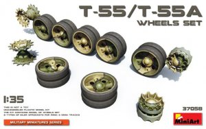 T-55/T-55A Wheels Set