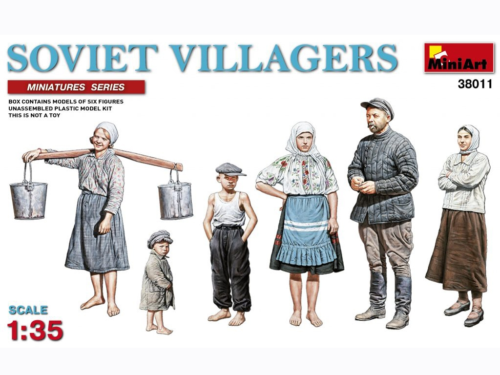 Campesinos Rusos  (Vista 1)