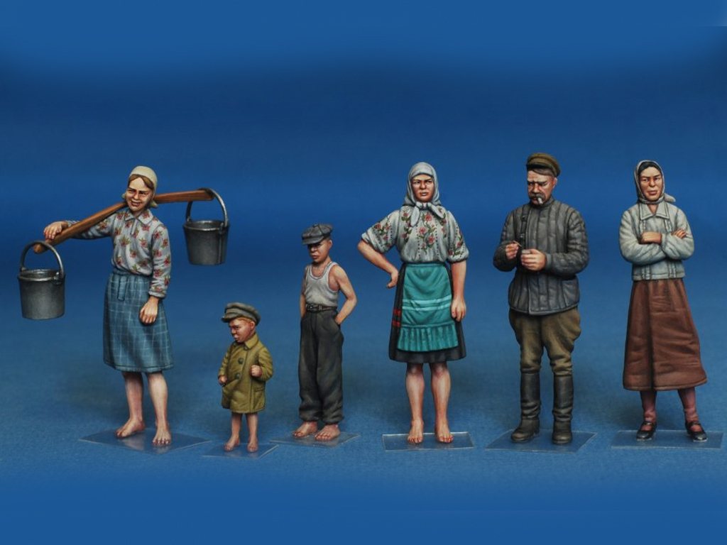 Campesinos Rusos  (Vista 2)