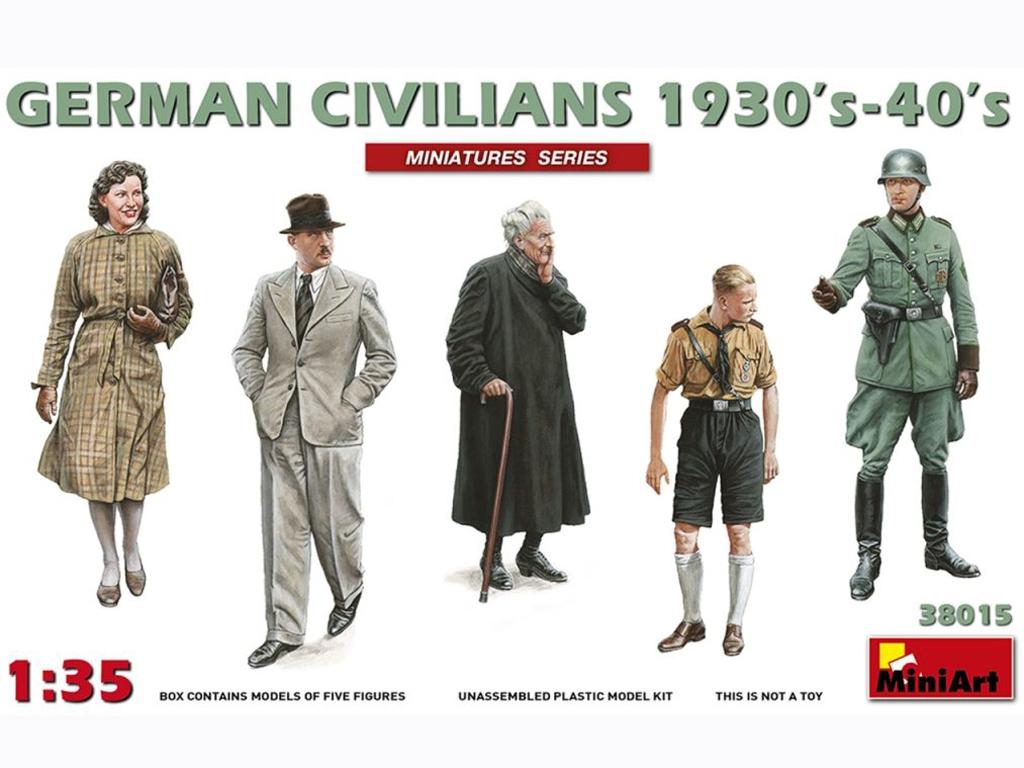 Civiles Alemanes 1930-1940  (Vista 1)