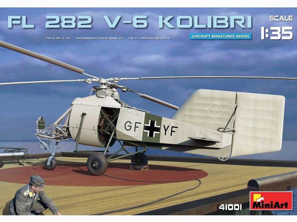 Fl 282 V-6 Kolibri - Ref.: MIAR-41001