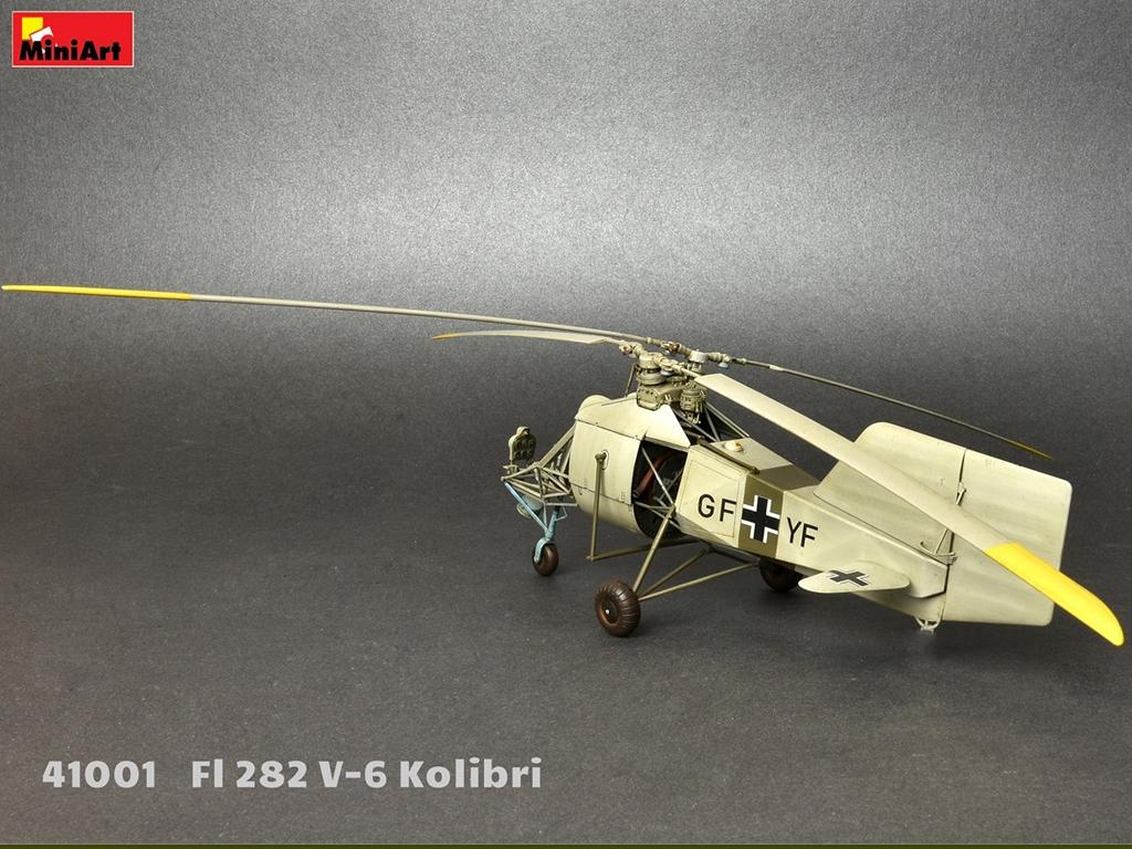 Fl 282 V-6 Kolibri  (Vista 10)