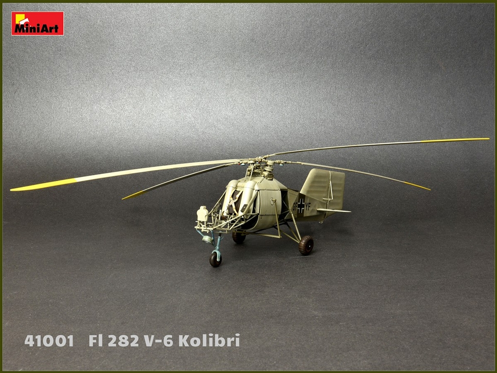 Fl 282 V-6 Kolibri  (Vista 12)