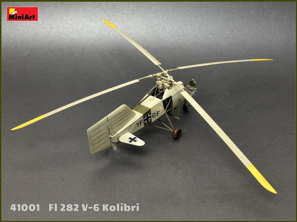 Fl 282 V-6 Kolibri  (Vista 5)