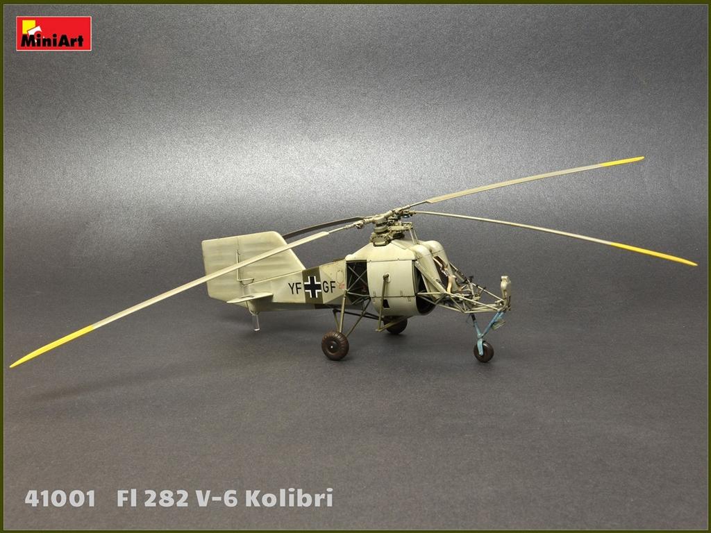 Fl 282 V-6 Kolibri  (Vista 6)