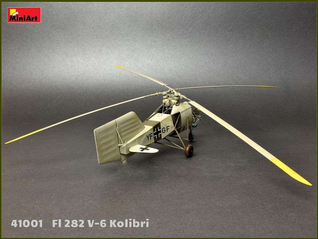 Fl 282 V-6 Kolibri  (Vista 7)