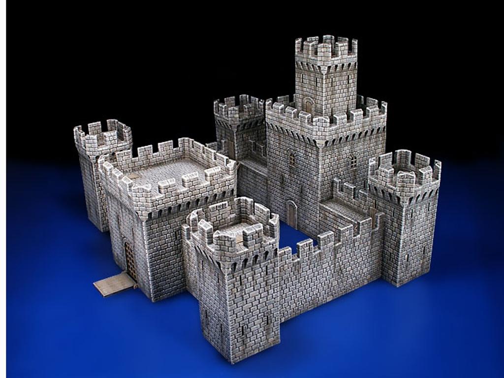 Castillo Medieval siglo XII-XV  (Vista 2)