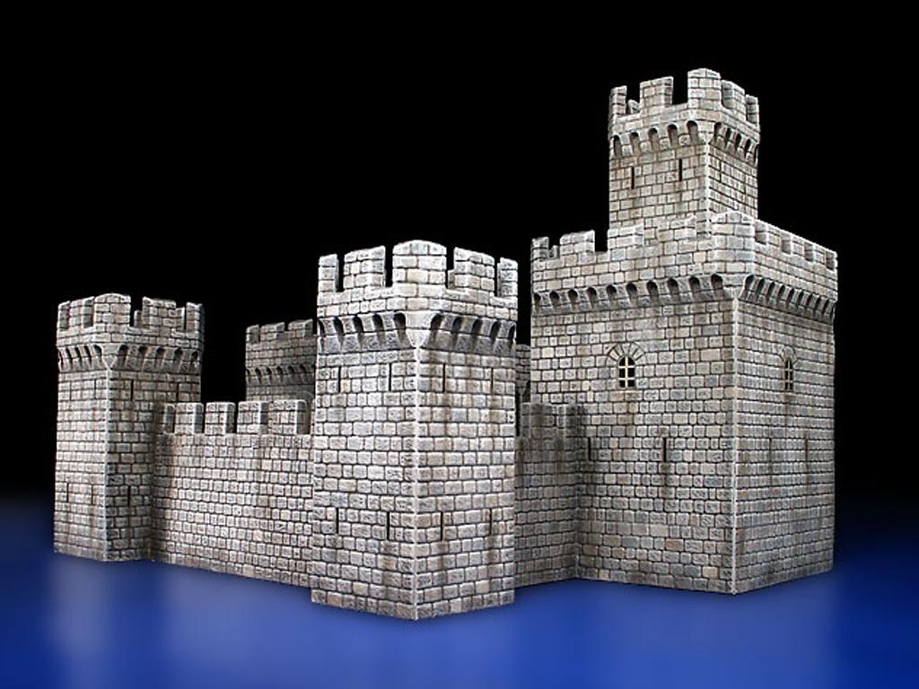 Castillo Medieval siglo XII-XV  (Vista 4)
