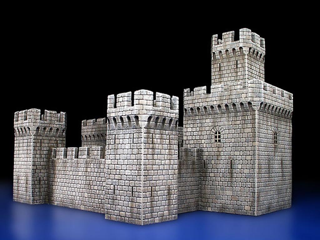 Ecomodelismo.com: Castillo Medieval.: Dioramas 1/72: Scale